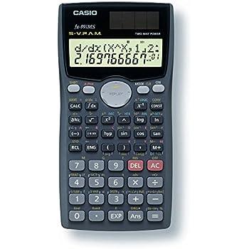 CASIO FX-991MS Technisch-Wissenschaftlicher Taschenrechner