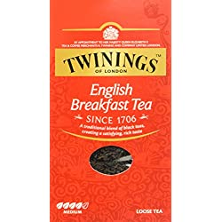 Twinings English Breakfast loser Tee 200g, 1er Pack (1 x 200 g)