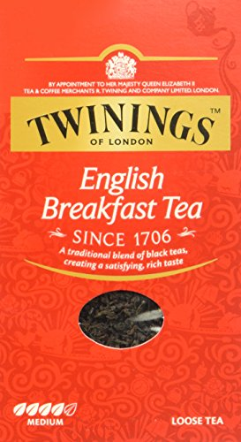 Twinings English Breakfast loser Tee 200g, 1er Pack (1 x 200 g) -