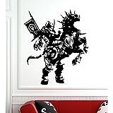 Wandtattoo Draenei Paladin World of Warcraft Größe M