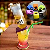 4Pcs/Set ABS Bottle Buckle Beer Cocktail Snap Bar Drink Clips Bottle Holders wine bar kitchen accessories kitchen tools