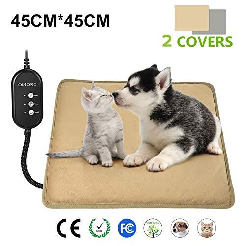 Manta eléctrica Omorc para mascotas con temperatura ajustable por sólo 10,99€ usando el #código: ZXGOGGT2