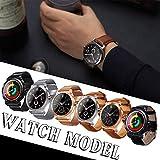 Mimir-T Smart-Watch, Aktivitätstracker mit Herzfrequenz-Monitor, wasserdicht, IP67-Fitness-Uhr, Schlaf-Monitor, Schrittzähler, Schrittzähler, Armbanduhr für Android-Smartphones