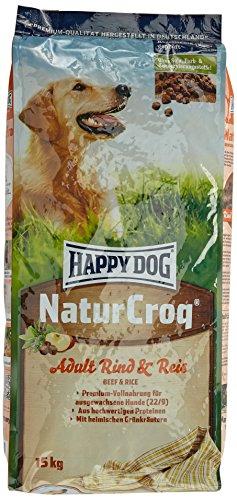 Happy Dog Hundefutter 2445 NaturCroq Rind & Reis 15 kg