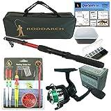 Roddarch-Junior-Beginners-Kids-Novice-Fishing-Rod-Reel-Kit-Set