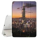 FJCases Taipeh Taiwan Postkarte Aussicht Smart Cover Tablet-Schutzhülle Hülle Tasche + Auto aufwachen/Schlaf Funktion für Apple iPad Air 10.5