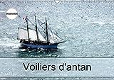 Voiliers d'antan : Photos aériennes d'anciens voiliers. Calendrier mural A3 horizontal