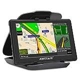 Sat Nav 5 inch 8GB 256MB 2020 Sat Navs for Cars GPS Navigation with Non-Slip Car Bracket Holder