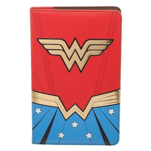 Wonder Woman Offizielle DC Comics Retro Design Reisebrieftasche und Journal
