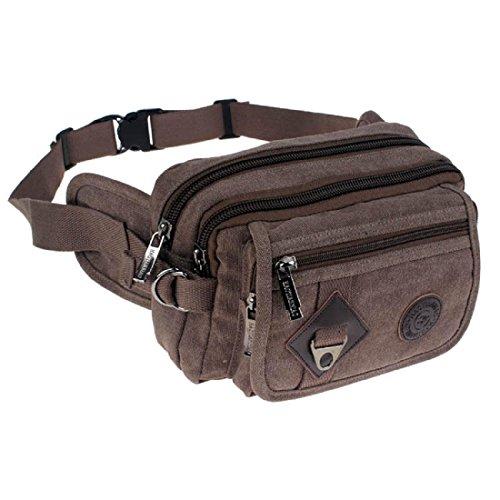 Sporttasche Reitpaket Schließen Kleine Schultasche Kuriertasche Tragbar Taschen coffee