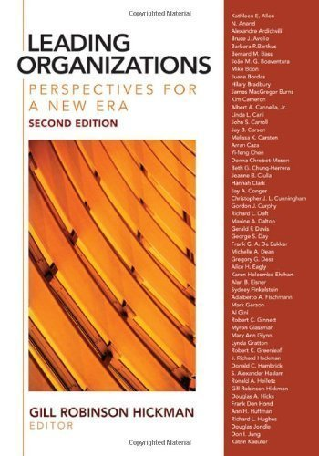 Leading Organizations: Perspectives for a New Era by unknown 2nd (second) Edition [Paperback(2009)]