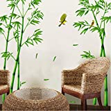 Best Green Forest Dining Tables - fqz93in Wall Sticker Removable Green Bamboo Forest Depths Review