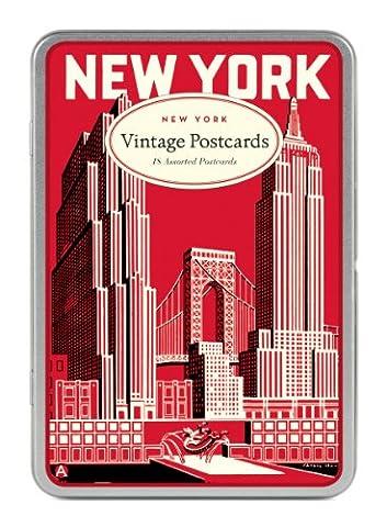 New York Carte Postale Postcards