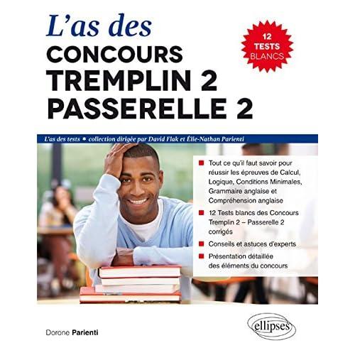 L'As des Concours Tremplin 2 Passerelle 2