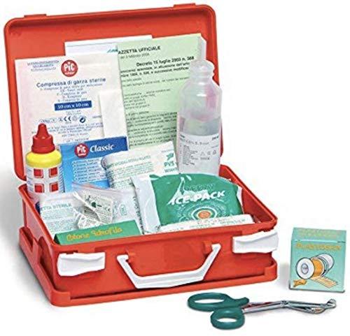 Cassetta valigetta medica primo e pronto soccorso medic 1 all.2 cat.c med12c