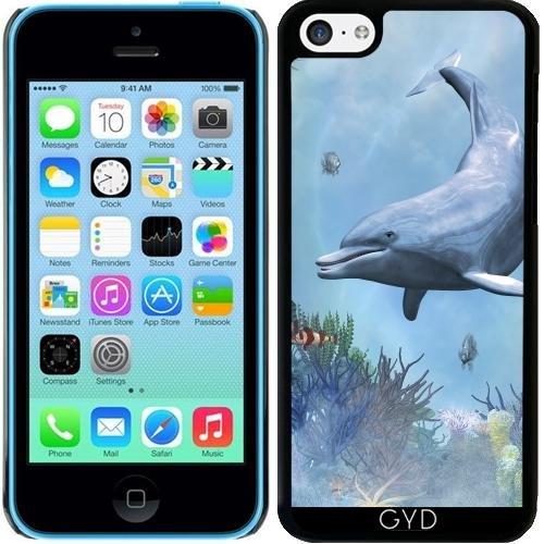 Hülle für Iphone 5c - Delfine Seestück by Gatterwe (Coral Fall 5c)