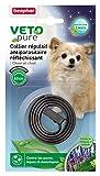 Beaphar Reflektierende Hundehalsband Schwarz Marly