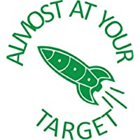 Almost at your target Self inking teacher reward stamp X12137 by Teacher Stamps
