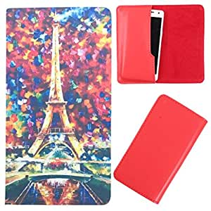 DooDa - For Panasonic T11 PU Leather Designer Fashionable Fancy Case Cover Pouch With Smooth Inner Velvet