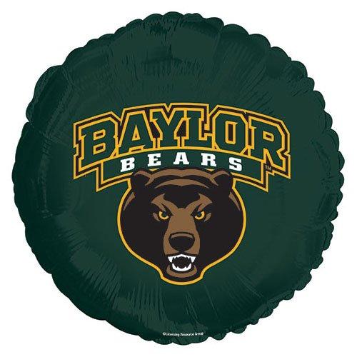 CTI 115468HV Folienballon Baylor University Bears, 43,2 cm, mehrfarbig Baylor University Bears