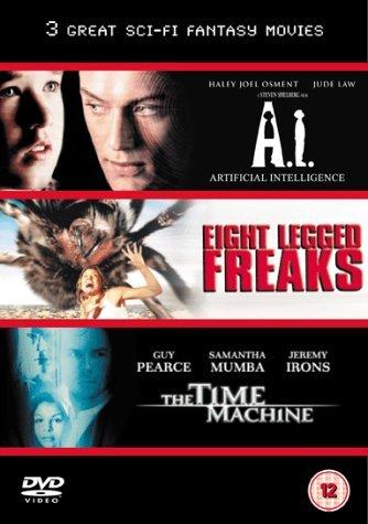 A.I./The Time Machine/Eight Legged Freaks [DVD] [2002] by David Arquette