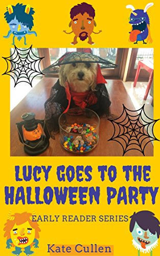 Lucy Goes to the Halloween Party (Lucy's Early Reader Series) (English Edition)