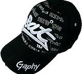 hammergeiles Basecap, Baseball Cap -bester Preis- Mütze hut kappe 10 Farben NICE (schwarz/weiß)