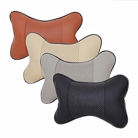 Auto Kopf Und Hals Kissen Vier Jahreszeiten Gemeinsame Knochen Kissen Automotive Supplies , brown