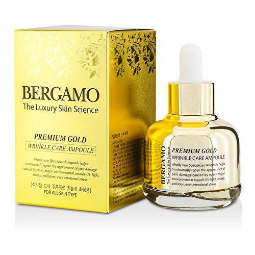 Bergamo Premium Gold - Anti Falten Serum - Gesichtspflege Testsieger in Asien
