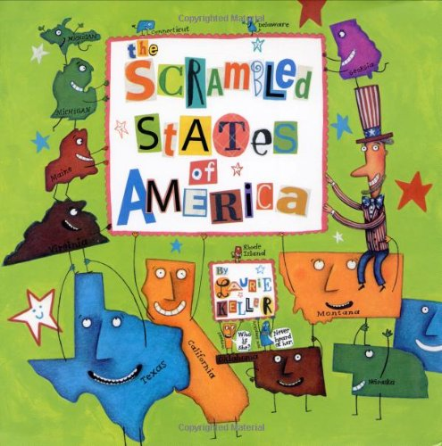 The Scrambled States of America por Laurie Keller