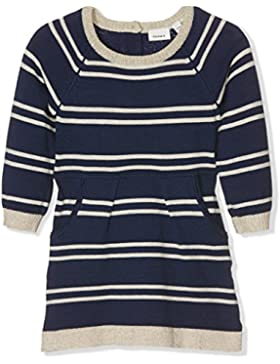 NAME IT Mädchen Kleid Nitdelima Ls Knit Dress Mz