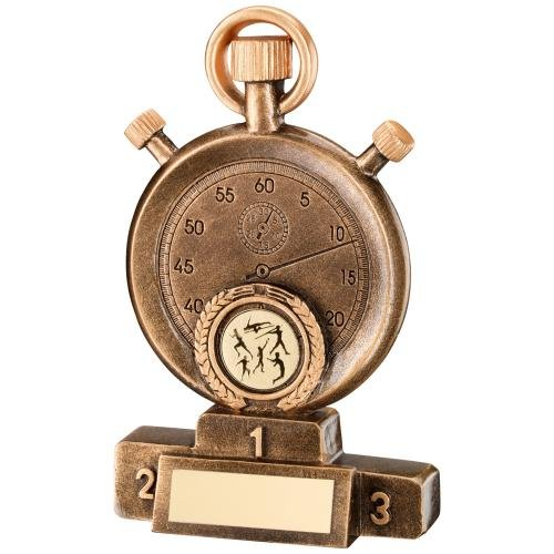 13,3cm Kunstharz Leichtathletik Trophy Award gratis Gravur bis zu 30Buchstaben