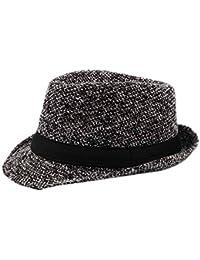 Gysad Cappello Uomo Invernali Cappello di Feltro Cappello da Jazz Cappello  Caldo Cappelli Classici Cappelli da 3a5e0e4338c2