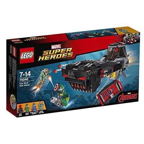 Preisvergleich Produktbild LEGO Marvel Super Heroes 76048 - U-Boot Überfall von Iron Skull