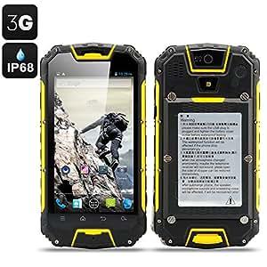 Snopow M9 - Smartphone robuste / Talkie Walkie 4.5 pouces / IP68 / Résitant à l'eau, la poussière, aux chocs / Android / 3G / Double SIM / Jaune*