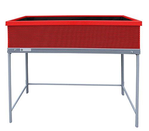 Huerto urbano Green Passion calidad Premium 90x45x80 cm.Color rojo