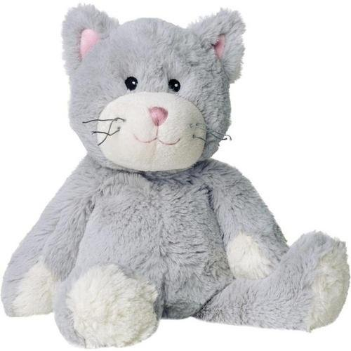 térmica de peluche gato gris 1St