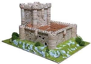 Maquette en céramique - Château de Fuensaldaña, Espagne