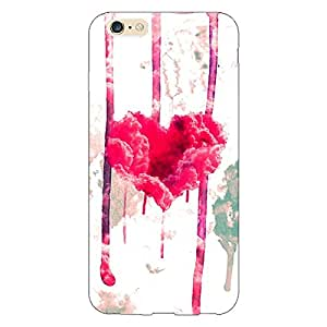 Jugaaduu Love Heart Back Cover Case For Apple iPhone 6
