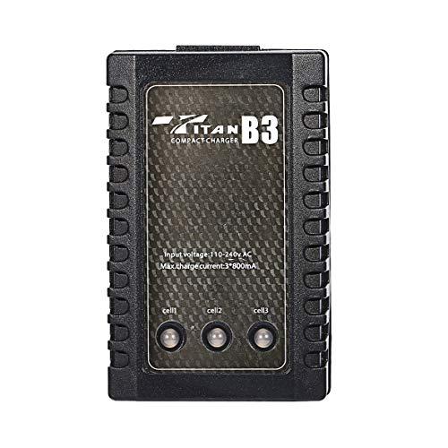 Heaviesk RC LIPO Ladegerät B3 7,4 V 11,1 V Li-Polymer Lipo Ladegerät 2s 3s Zellen für RC LiPo AEG Airsoft Batterie