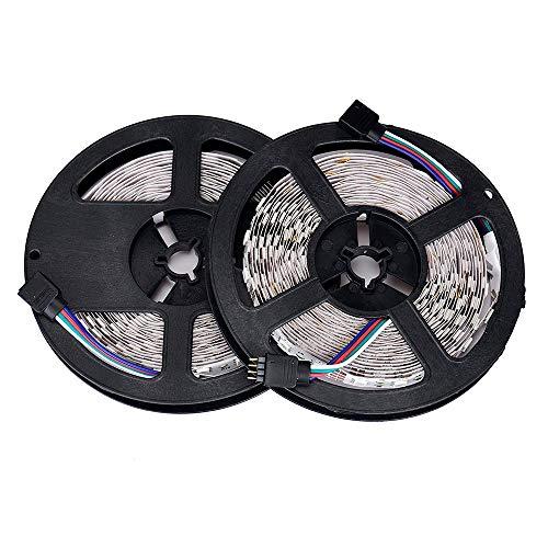 Dicomi 10M LED Streifenleuchte Partei Abend Lampe Nicht Wasserdichte Lichtleiste Bänder Haus & Garten Mit Fernbedienung(UK-Vorschriften)