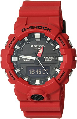 G-Shock Men's GA-800 Red One Size