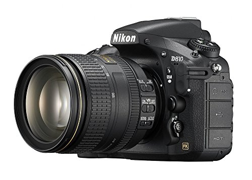 Nikon D810 36.0MP/36.3MP Digital SLR Camera (Black) with 24-120mm VR Lens