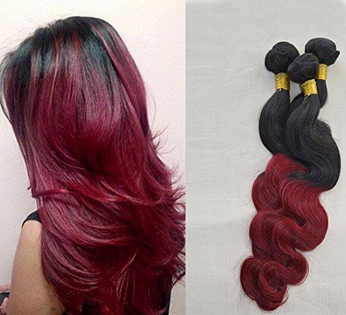 tie and dye bordeaux sur cheveux chatain coiffures populaires. Black Bedroom Furniture Sets. Home Design Ideas