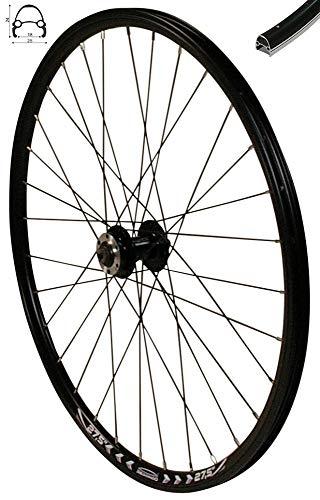 Redondo 27,5 Zoll Vorderrad Laufrad Fahrrad V Profil Felge Schwarz Disc -
