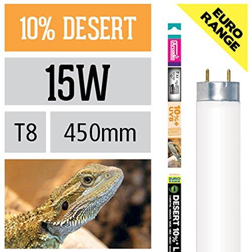 Arcadia 15 Watt D3+ Reptile Dessert Lampe 10% UV-B