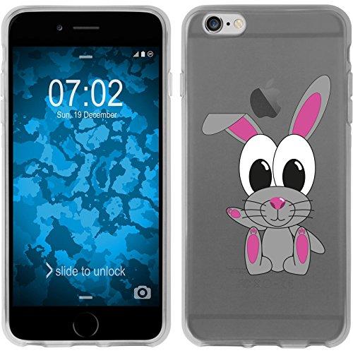 PhoneNatic Case für Apple iPhone 6 Plus / 6s Plus Silikon-Hülle Cutiemals M1 Case iPhone 6 Plus / 6s Plus Tasche + 2 Schutzfolien Motiv 4