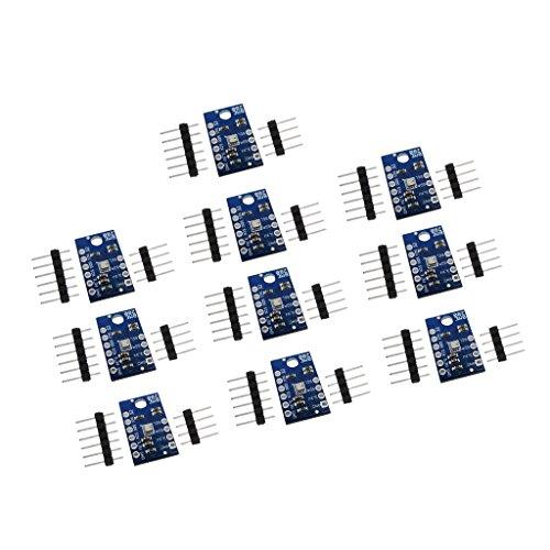 Sharplace 10pcs Luftdrucksensor Temperatur Feuchtigkeit Luftdruck BME280 Sensormodul