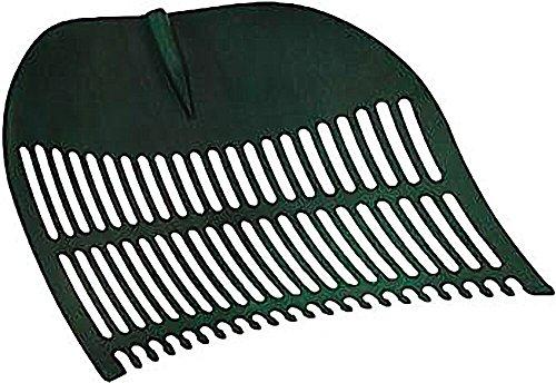 Kunststoff-Laubbesen Laubschaufel Arbeitsbreite ca. 70 cm für Laub und Gras