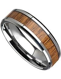 Sorella'z Unisex Metal Wood Tone Ring
